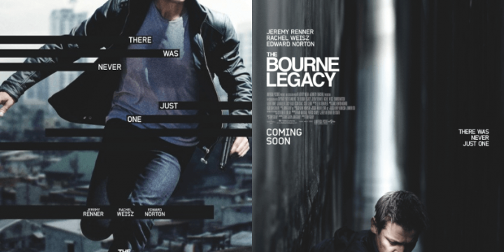 How to Make The Bourne Legacy Movie Poster into an Awesome Wall Art